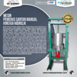 Mesin Pemeras Santan Manual