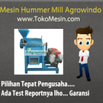 Mesin Hummer Mill Penepung