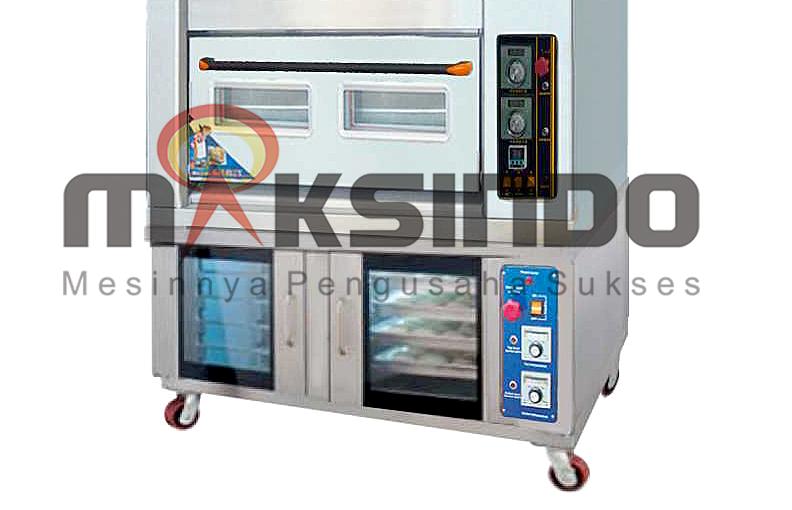 Mesin Combi Deck Oven + Proofer