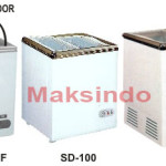 Mesin Sliding Flat Glass Freezer