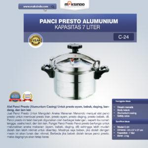 Panci Presto Alumunium 7 -135 Liter