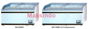 mesin-freezer-sliding-curve-glass-pusatmesin