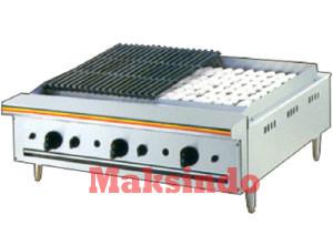 Mesin Pemanggang Ikan dan Daging (Gas Char Broiler)
