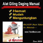 Alat Giling Daging Manual (Iron)