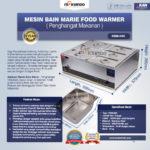 Mesin Bain Marie Penghangat Makanan (EBM Type)