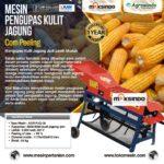 Mesin Pengupas Kulit Jagung (Corn Peeling) AGR-PJG06