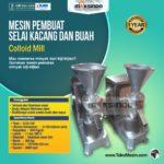 Mesin Pembuat Selai Kacang dan Buah (Colloid Mill)