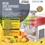 Mesin Juice Dispenser 3 Tabung (17 Liter) – DSP17x3