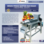 Mesin Peras Santan dan Buah (Industrial Juicer)