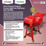 Mesin Chopper Perajang Rumput Gajah & Sejenisnya AGR-CH200B