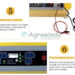 Mesin Penetas Telur Otomatis 48 Butir – AGR-TT48