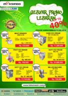 GEBYAR PROMO LEBARAN Up to 40 %