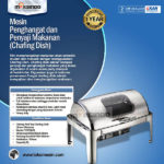 Chafing Dish Oblong Roll Top – 9 Liter – MKSPM23