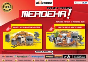 PAKET PROMO MERDEKA UP TO 10%