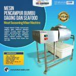 Mesin Pencampur Bumbu Daging dan Seafood