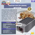 Mesin Takoyaki Gas (28 Lubang)