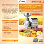 Mesin Penepung Biji, Bumbu dan Herbal (GRD1500)