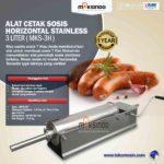 Alat Cetak Sosis Horizontal Stainless 3 – 7 liter (MKS-3H)