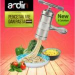 Alat Cetak Mie dan Pasta Manual Stainless (ARDIN)