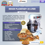 Mesin Mixer Planetary 20 Liter NEW High Quality (MKS-BK20M)