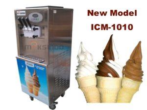 Mesin Es Krim 3 Kran Standing ICM-1010