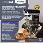 Mesin Mixer Planetary 10 Liter (MPL-10)