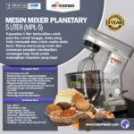 Mesin Mixer Planetary 5 Liter (MPL-5)