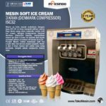 Mesin Soft Ice Cream 3 Kran (Denmark Compressor) – ISC32