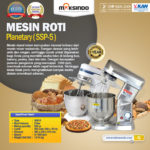 Mesin Mixer Planetary 5 Liter Stainless (SSP-5)