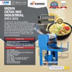 Mesin Cetak Mie Industrial (MKS-800)