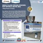 Mesin Filling Tepung dan Biji (2-100gr)