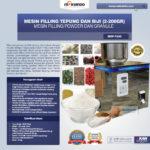 Mesin Filling Tepung dan Biji (2-200 gr)