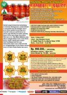 Training Sambal dan Sauce di Condet, 18 Maret 2017