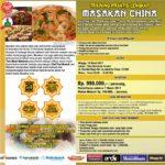Training Masakan Cina di Condet, 19 Maret 2017