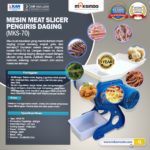Meat Slicer Pengiris Daging – MKS-70