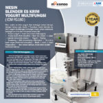 Mesin Blender Es Krim Yogurt Multifungsi