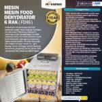 Mesin Food Dehydrator 10 Rak (FDH10)