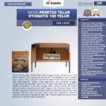 Mesin Penetas Telur Otomatis 100 Telur (EM-100AT)