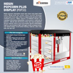 Mesin Popcorn Plus Display (POP33)