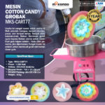 Mesin Cotton Candy + Grobak
