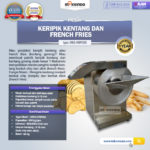 Mesin Keripik Kentang dan French Fries MKS-KRP650