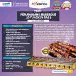 Pemanggang BBQ 10 Tungku (Gas)