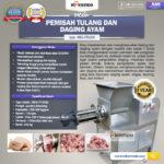 Pemisah Tulang Dan Daging Ayam PTA-300