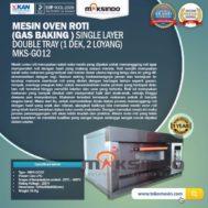 Mesin Oven Gas 2 Loyang (MKS-GO12)