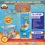 Paket Usaha Ice Snow Rainbow MKS-003 Program BOM