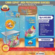 Paket Usaha Ice Snow Rainbow MKS-003 Program BOM
