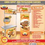 Paket Usaha Krispy Crepes (Listrik) Program BOM