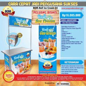 Paket Usaha Roll Ice Cream Progam BOM