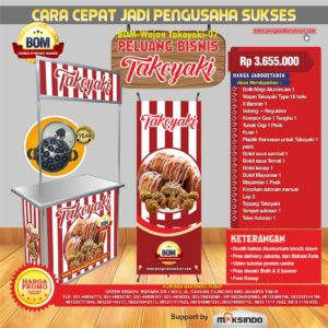 Paket Usaha Wajan Takoyaki Program BOM