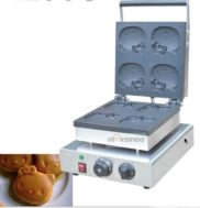 Mesin Cetak Kue/Waffle Bentuk Hello Kity (Kitty1)